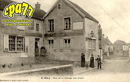 St Méry - Rue de la Grange aux dîmes