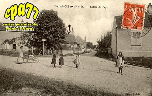 St Méry - Entrée du Pays