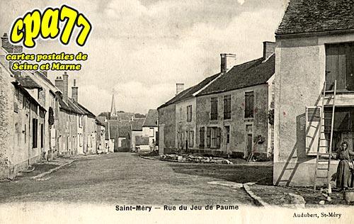 St Méry - Rue du Jeu de Paume