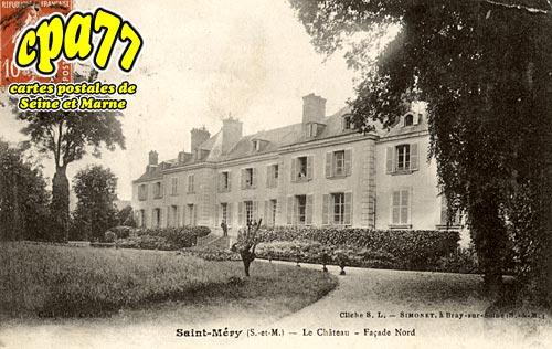 St Méry - Le Château - Façade Nord
