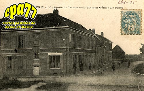 St Mesmes - Route de Dammartin - Maison Génier - La Place