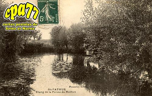 St Pathus - Etang de la Ferme de Noëfort