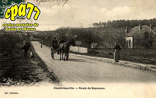 St Pierre Lès Nemours - Route de Bagneaux