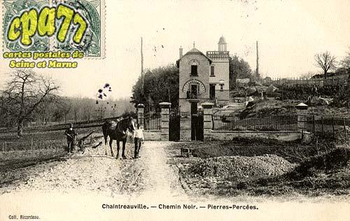 St Pierre Lès Nemours - Chemin Noir - Pierres-Percées