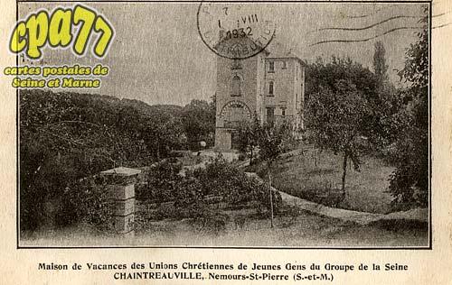 St Pierre Lès Nemours - Maison de Vacances des Unions Chrétiennes de Jeunes Gens du Groupe de la Seine