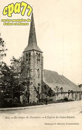 St Pierre Lès Nemours - Environs de Nemours - L'Eglise de Saint-Pierre