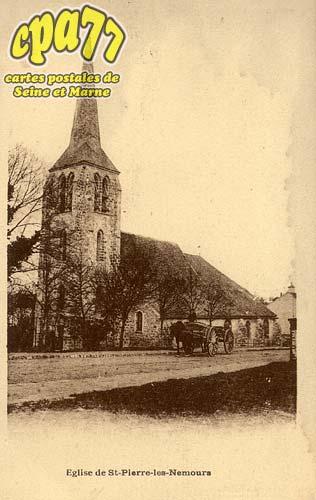 St Pierre Lès Nemours - Eglise de Saint-Pierre-Les-Nemours