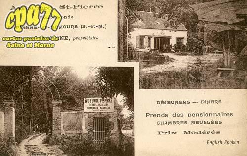 St Pierre Lès Nemours - Auberge St-Pierre - Route Ronde - Henri Lemoine, propriétaire