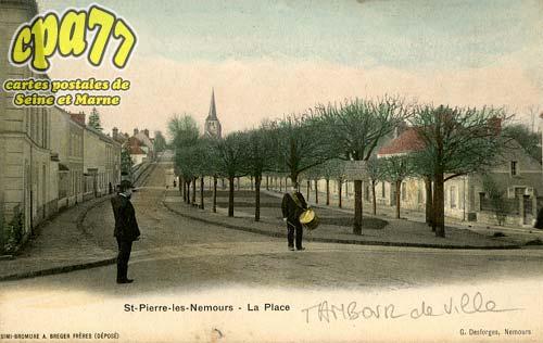 St Pierre Lès Nemours - St-Pierre-Les-Nemours - La Place