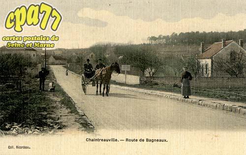 St Pierre Lès Nemours - Chaintreauville - Route de Bagneaux