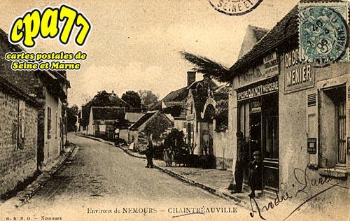 St Pierre Lès Nemours - Une Rue