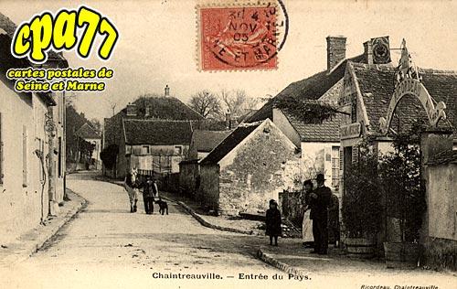 St Pierre Lès Nemours - Entrée du Pays