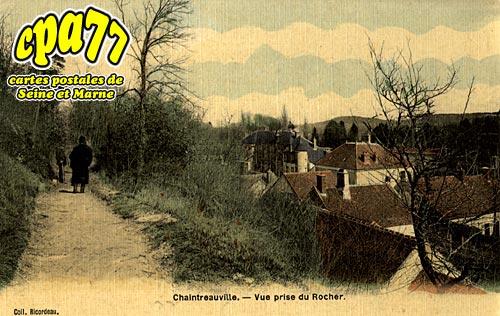St Pierre Lès Nemours - Vue prise du Rocher