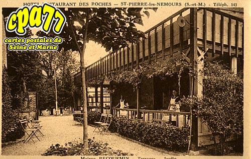 St Pierre Lès Nemours - Hôtel-Restaurant des Roches