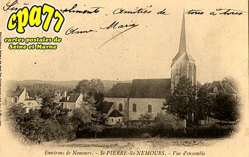 St Pierre Lès Nemours - Vue d'Ensemble