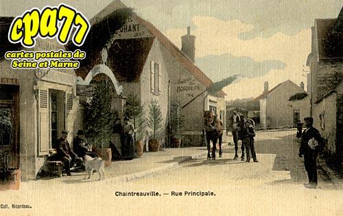 St Pierre Lès Nemours - Chaintreauville - Rue Principale