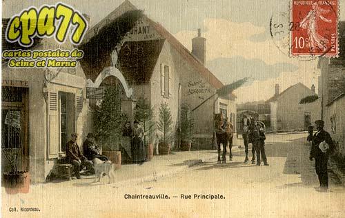 St Pierre Lès Nemours - Rue principale