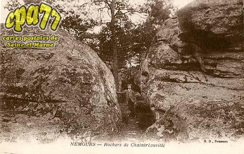 St Pierre Lès Nemours - Rochers de Chaintréauville