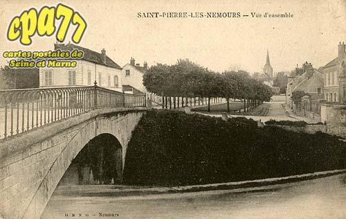 St Pierre Lès Nemours - Saint-Pierre-Les-Nemours - Vue d'ensemble