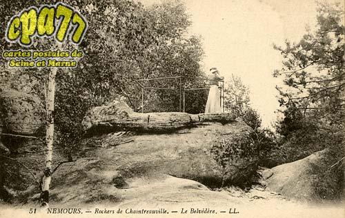 St Pierre Lès Nemours - Rochers de Chaintréauville - Le Belvédère