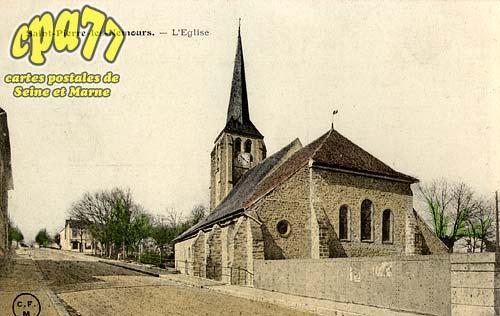 St Pierre Lès Nemours - L'Eglise
