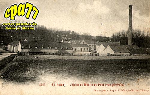 St Rémy De La Vanne - L'Usine du Moulin du Pont (vue générale)