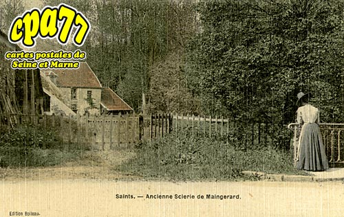Saints - Ancienne Scierie de Maingerard
