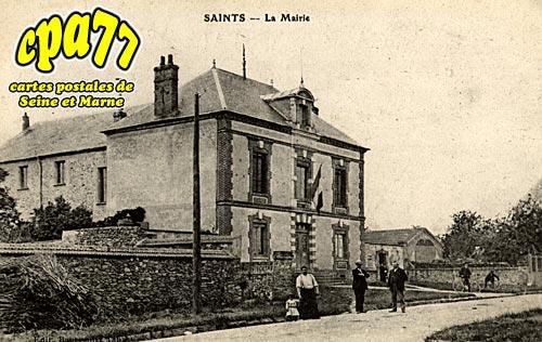 Saints - La Mairie