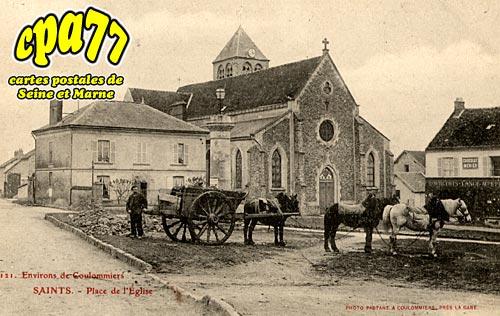 Saints - Place de l'Eglise