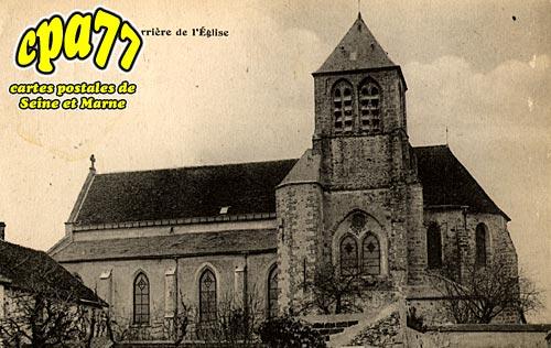 Saints - Derrière de l'Eglise