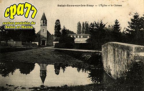 St Sauveur Lès Bray - L'Eglise et le Château