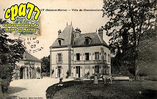 St Sauveur Lès Bray - Villa de Chamboulain