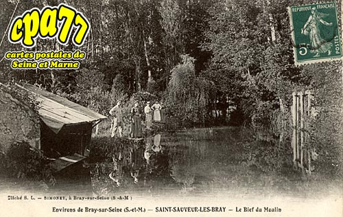 St Sauveur Lès Bray - Le Bief du Moulin