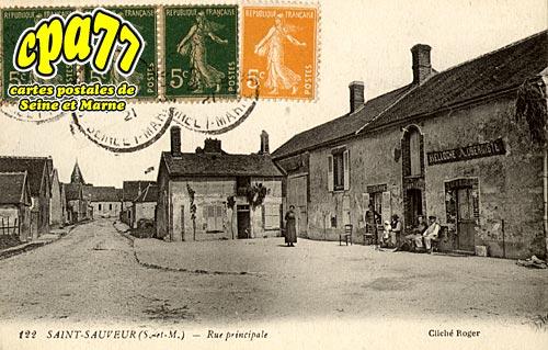 St Sauveur Lès Bray - Rue Principale