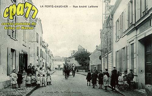 St Sauveur Lès Bray - Rue André Lefèvre