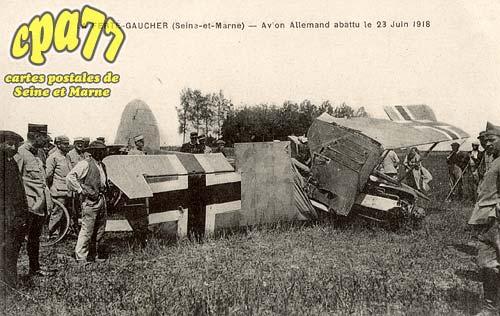 St Sauveur Lès Bray - Avion Allemand abattu le 23 Juin 1918