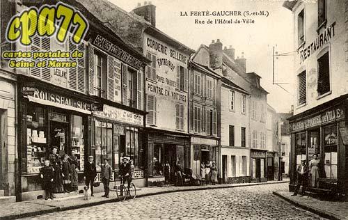 St Sauveur Lès Bray - Rue de l'Hôtel de Ville