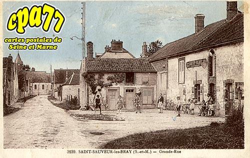St Sauveur Lès Bray - Grande-Rue (en l'état)