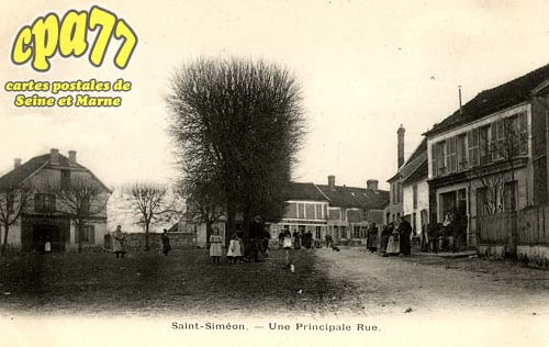 St Siméon - Une Principale Rue