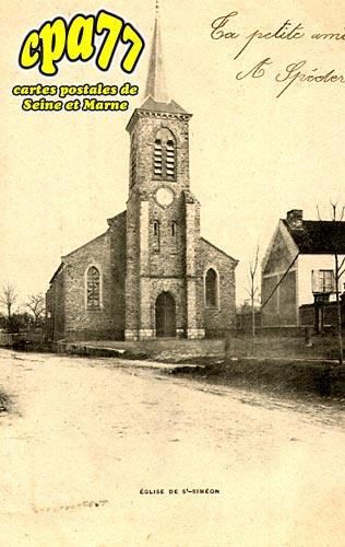 St Siméon - L'Eglise