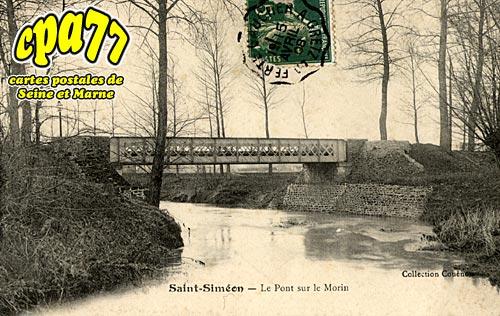 St Siméon - Le Pont sur le Morin