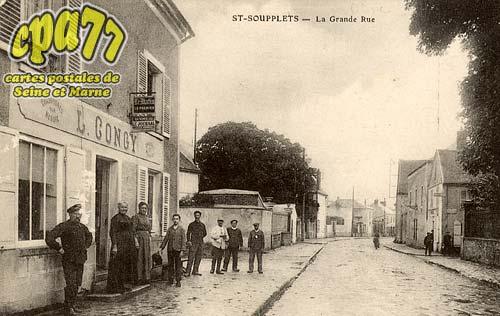 St Soupplets - La Grande Rue