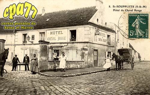 St Soupplets - Hôtel du Cheval Rouge