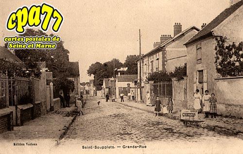 St Soupplets - Grande-Rue