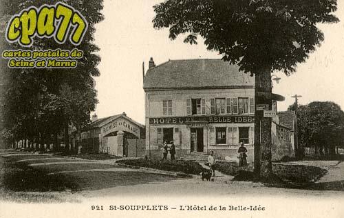 St Soupplets - L'Hôtel de la Belle-Idée