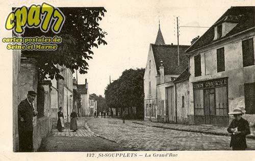 St Soupplets - La Grand'Rue