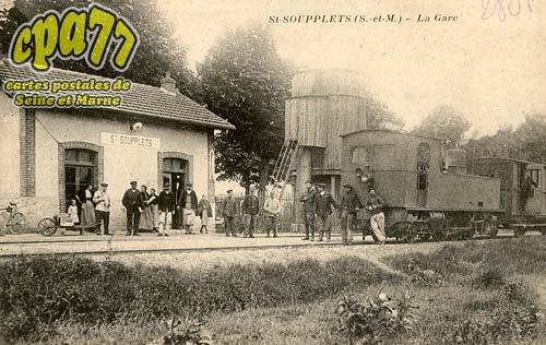 St Soupplets - La Gare
