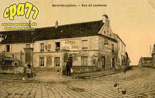 St Soupplets - Rue de l'Achevée
