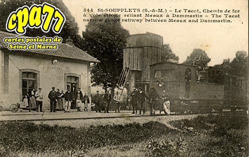 St Soupplets - Le Tacot, Chemin de Fer à voie étroite reliant Meaux à Dammartin