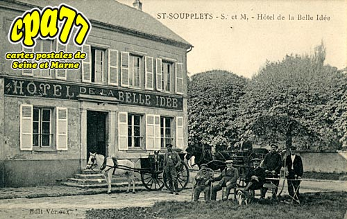 St Soupplets - Hôtel de la Belle Idée